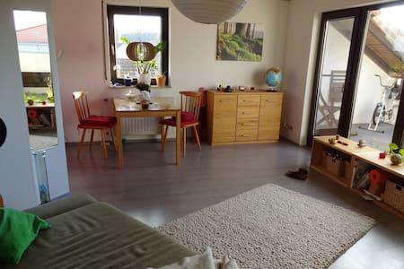 Helle und ruhige Wohnung im Rhein-Main-Gebiet