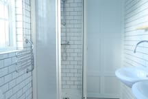 Refresh your senses in the walk-in shower
