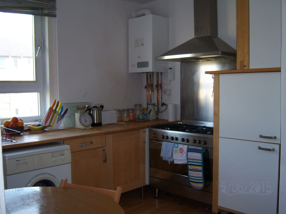 Fully equipt kitchen