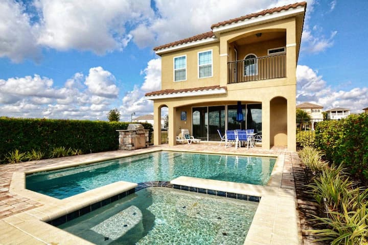 LUXURY 5 STARS Residential 5BR/5.5BA +Private Pool