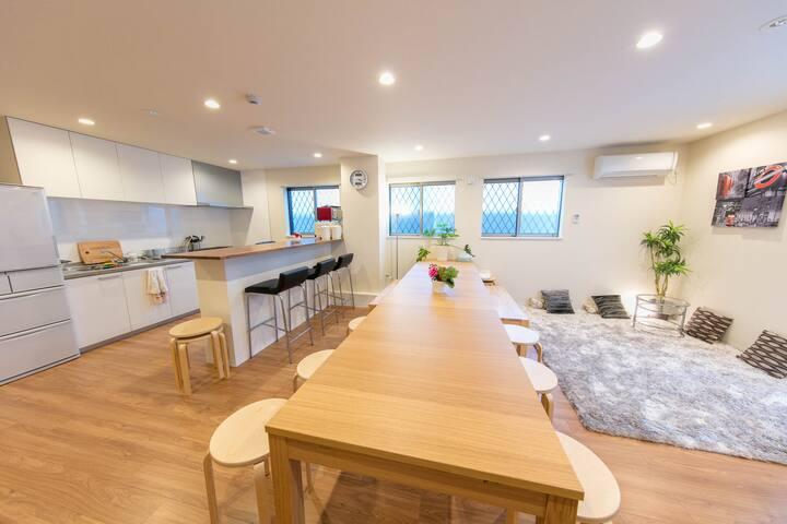 B/New open/Clean guesthouse/Near kyoto/FreeWifi - Moriguchi-shi - Guesthouse