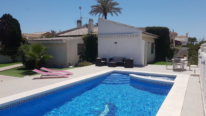 Chalet con piscina+Jaccuzzi