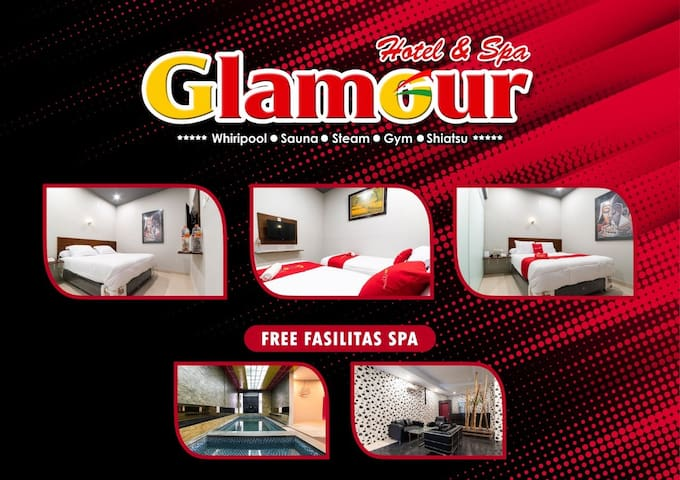 Exquisite Room at Glamour Hotel and Spa