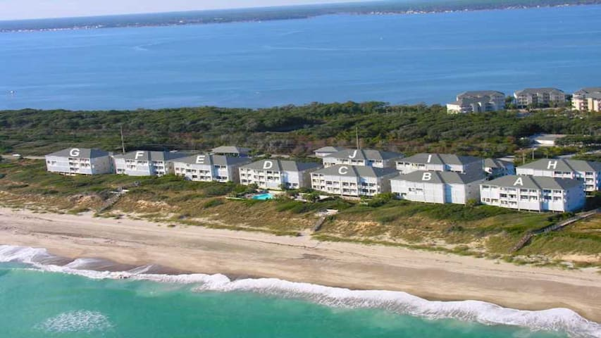 Ocean Club Resort - Ocean Front Condo- Heated Pool - Indian Beach - Apartament