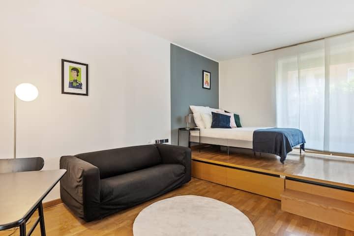 Loft in zona residenziale di Milano