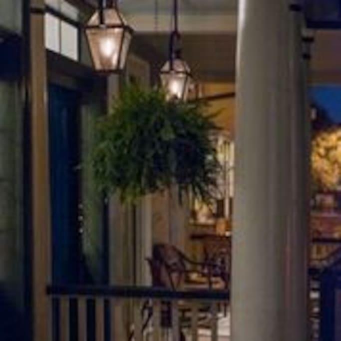 Twilight in Savannah