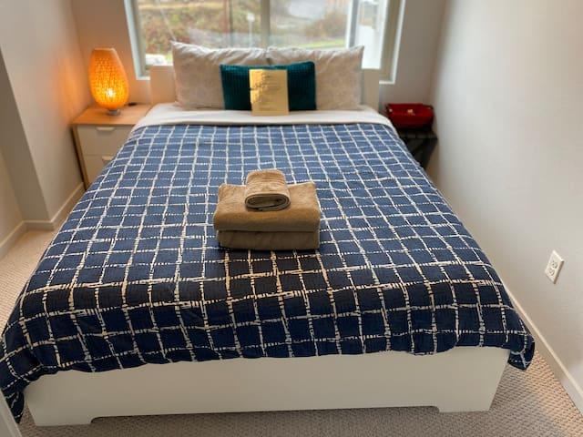 ★Couples Retreat|Elegant Bedroom|Amazing Rooftop★