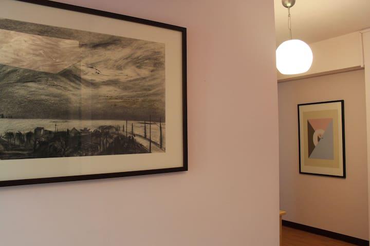 Painter's cozy flat 太原綠園道旁2F舒適公寓套房