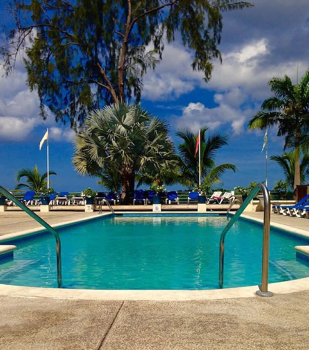 Private members pool ..