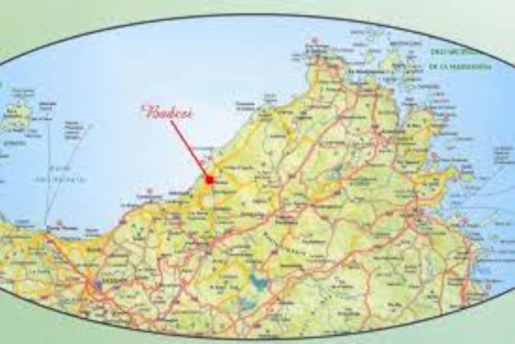 0) Ecco dove si trova Badesi
