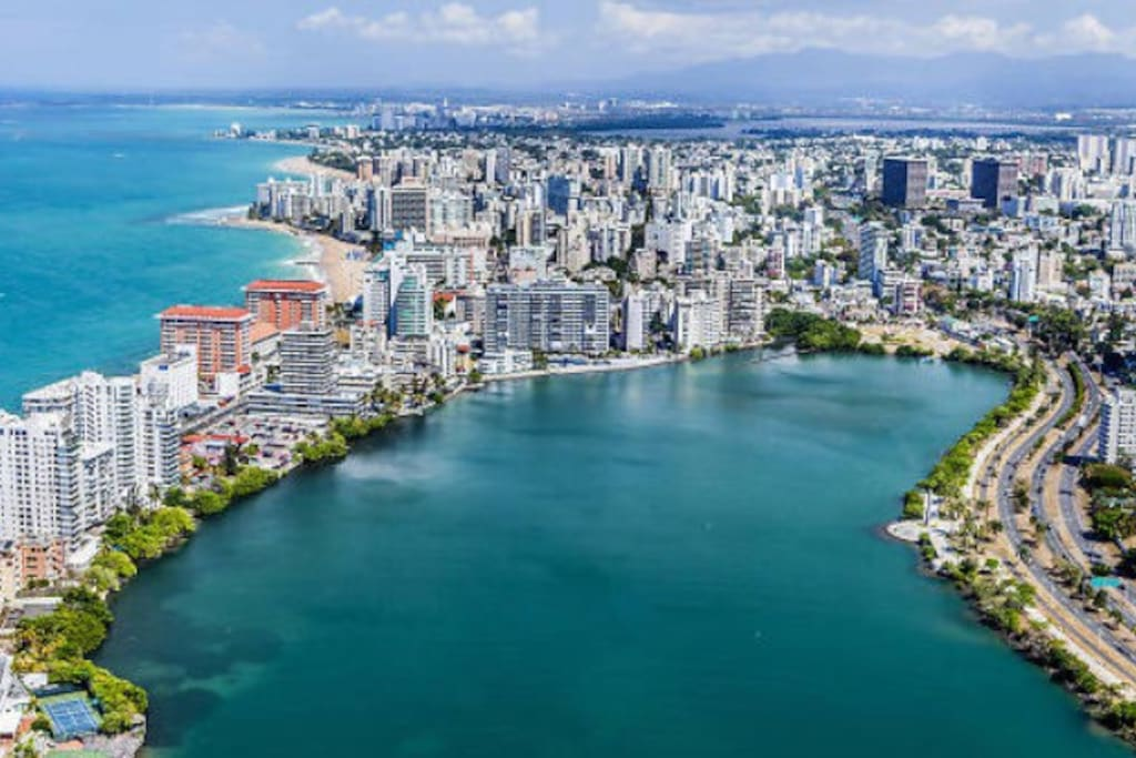 It is located in the Tourism Capital of PR; Condado!