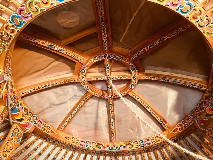 Natura e relax in splendida yurta tenda mongola