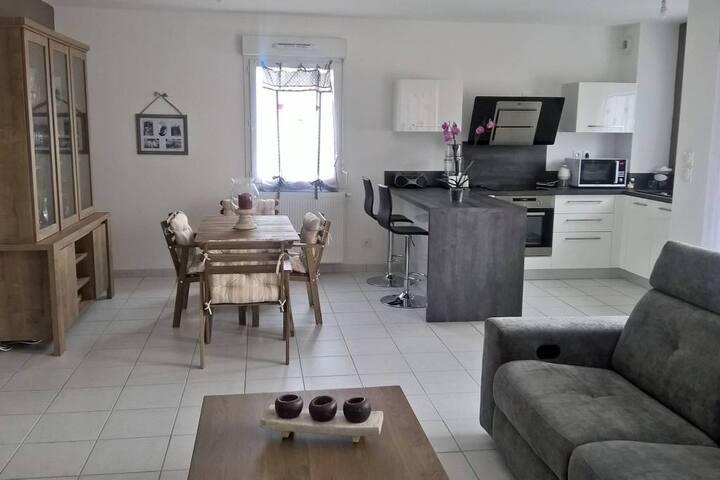 Appartement T2 très agréable et fonctionnel