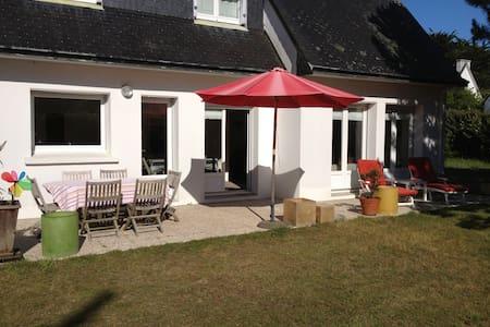 Villa de Famille en bord de Plage - Île-Tudy