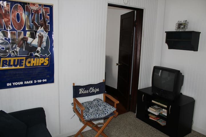 Blue Chip Room with pull out sofa bed