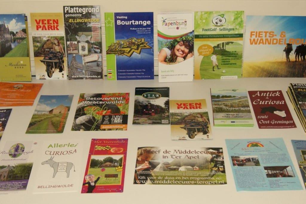 Ruime informatie over activiteiten in de omgeving