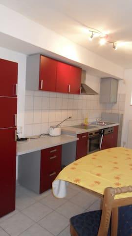 Unterkunft am Waldrand - Carlsberg - Apartment