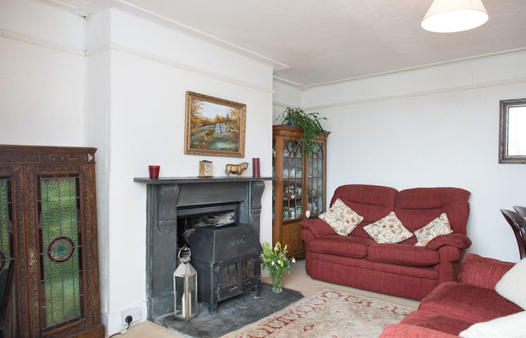 Tregarland Farm, B&B, Family Room