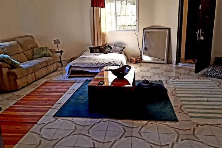 Gambia-Large Studio Apartment for Solo Travellers