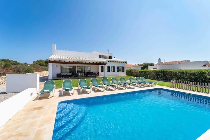 Binibeca Villa Esmee for 10 persons - SwimmingPool