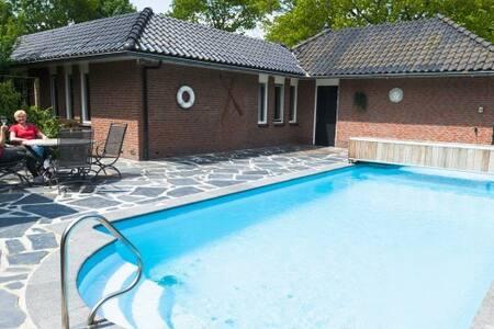Wellness villa (tot 18 personen) op de Veluwe - Voorthuizen