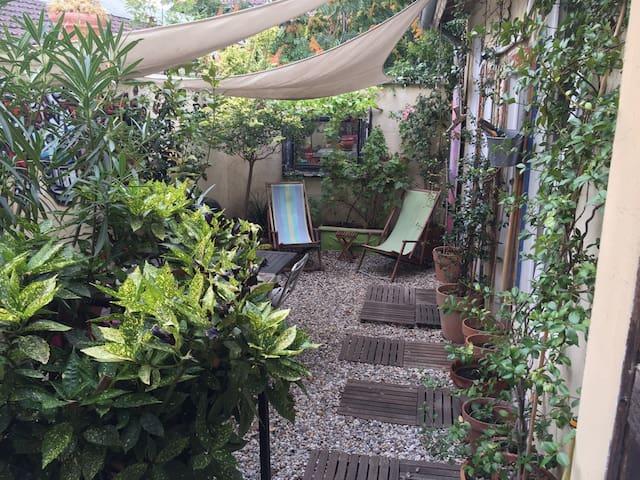 Loft avec terrasse verdoyante - Lyon - Loft