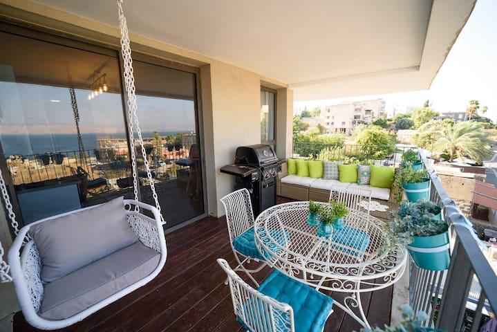 ✶Amazing 2BR + Balcony + Sea view - Yalarent