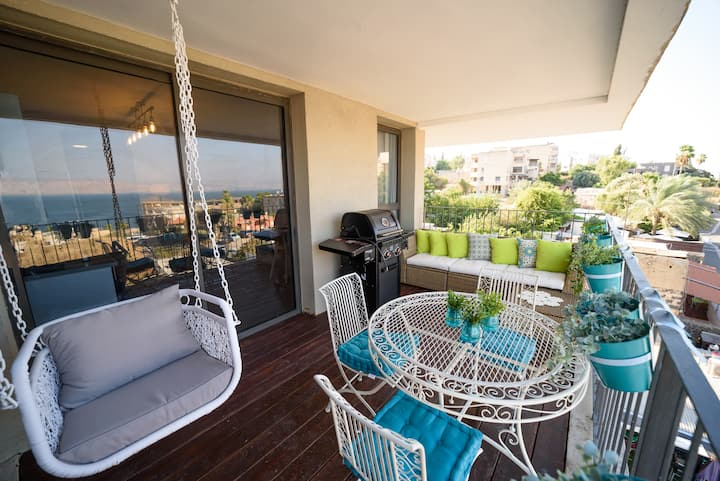 ✶Amazing 2BR + Balcony + Sea view - Yalarent