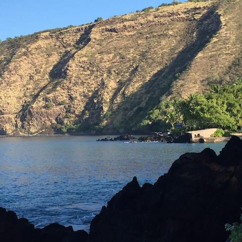Napo'opo'o Village Ohana at Magical Kealakekua Bay