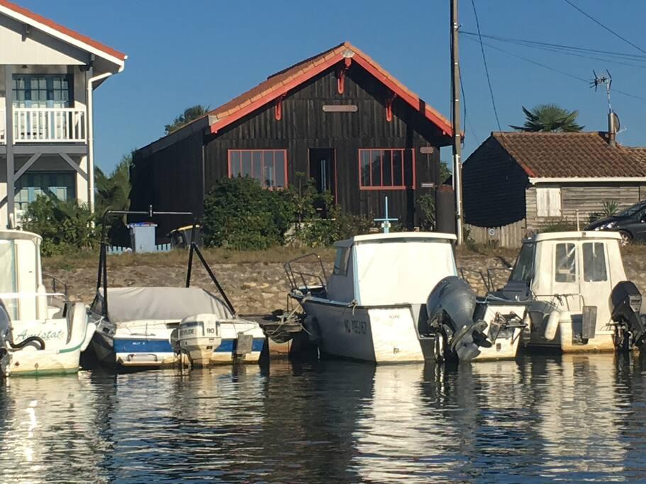 maison rénovée sur le port