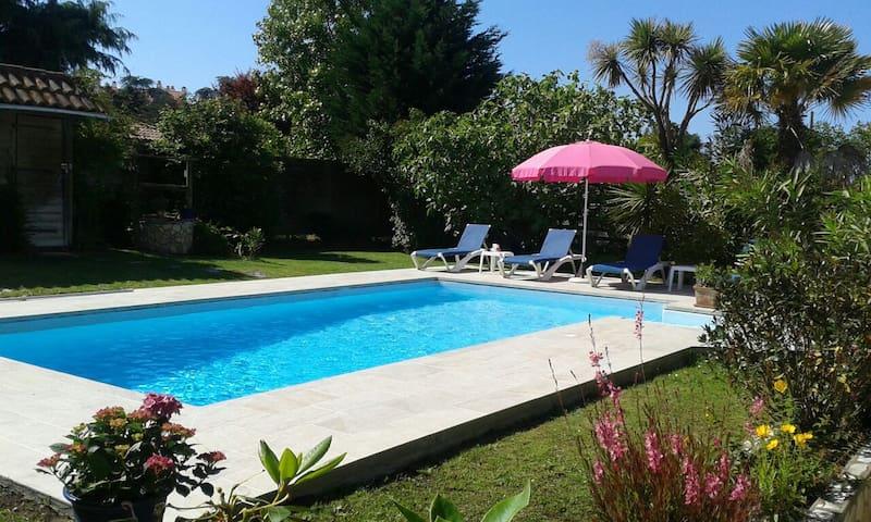 T3 avec piscine privée et à proximite des plages. - Anglet - Apartment