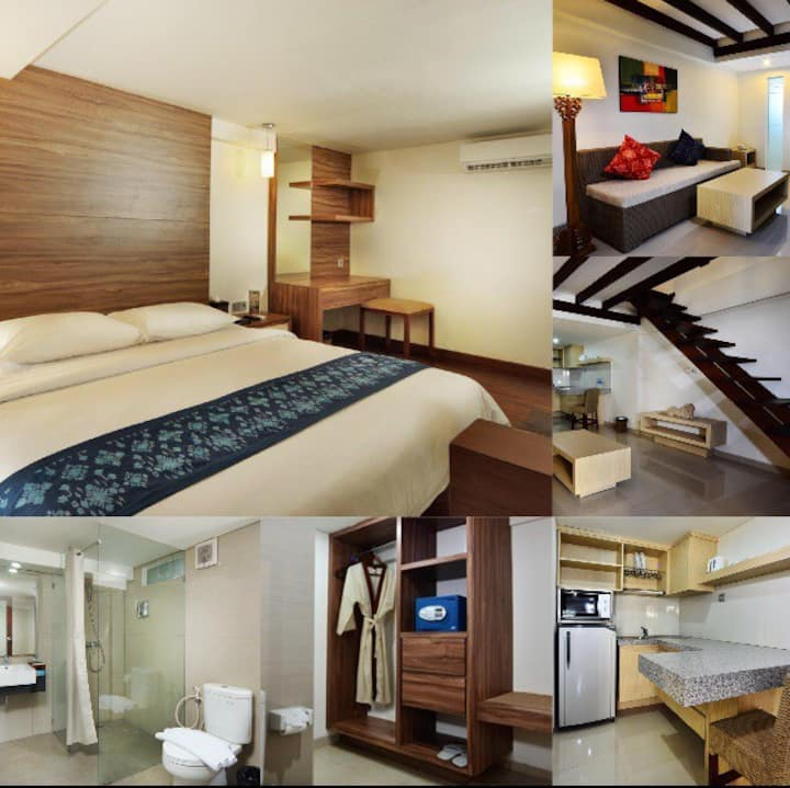 PROMO!! Cozy Loft Apartment •3/ Twin Bed-RO/ 2Gst