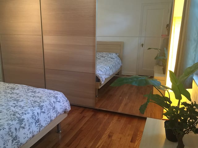 Airy Modern Apartment close to NYC ~ - 梅普爾伍德(Maplewood) - 公寓