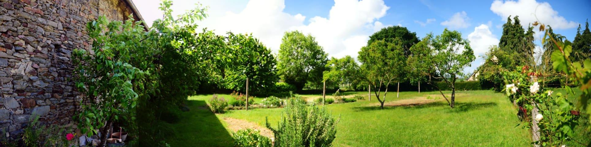 grand jardin de détente