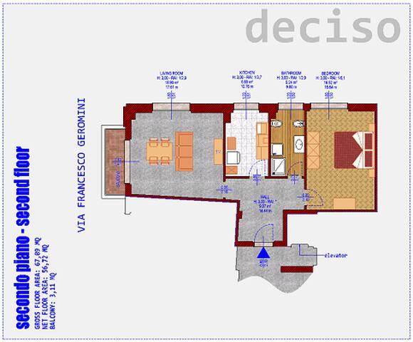 Appartamento DECISO