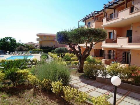 Casa cn piscina Capovaticano-Tropea