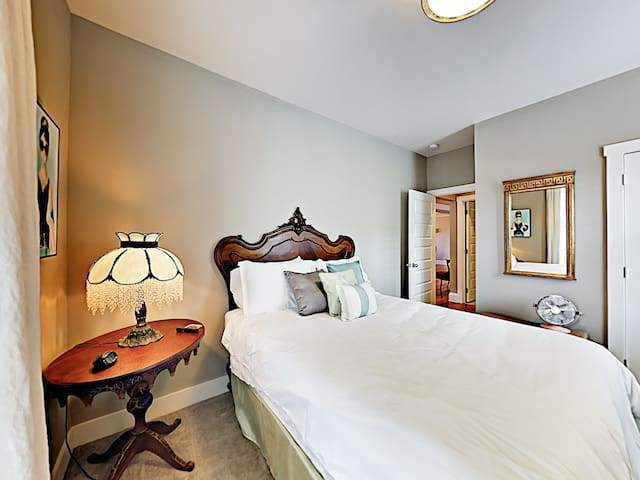 Hotel-grade linens are provided by TurnKey's professional housekeeping team.