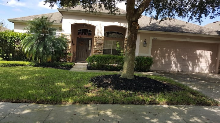 Private house in quiet, gated community!
