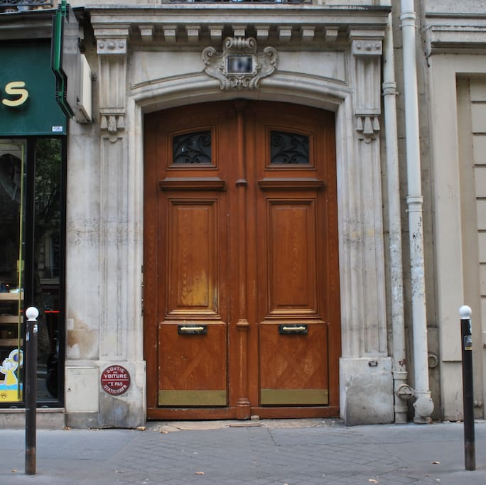 Lovely old Paris building