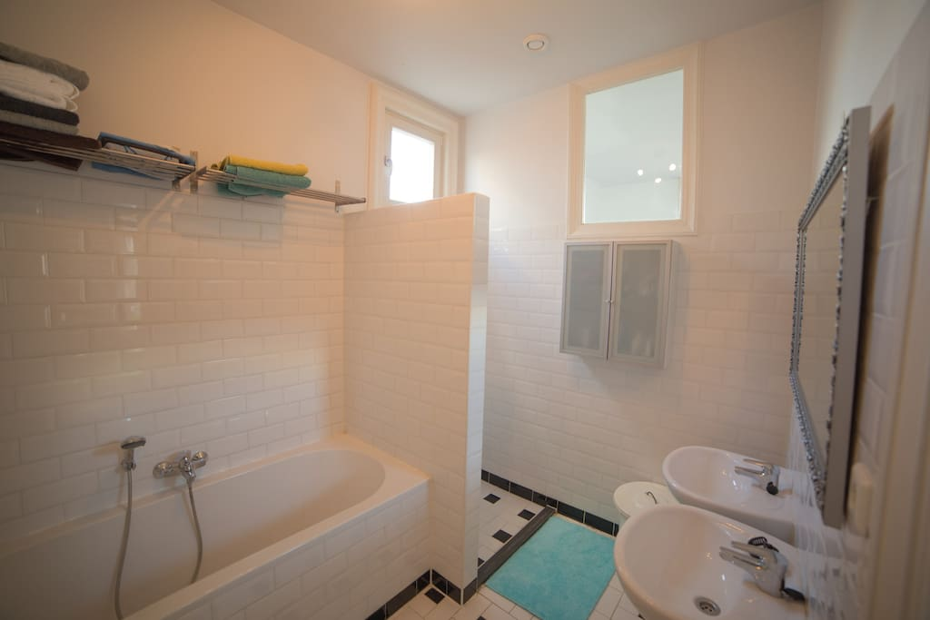 Bathroom with separate toilet