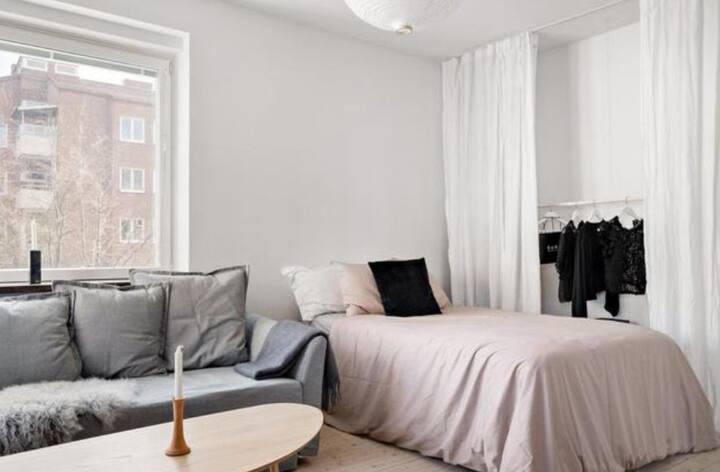 23 kvdm charmig lägenhet uthyres
