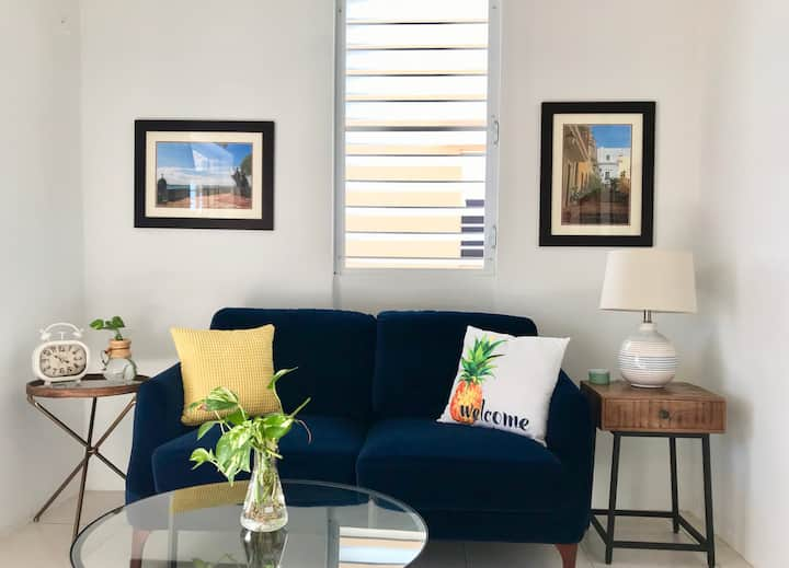 The Perfect 1BR close to Old San Juan, w/parking