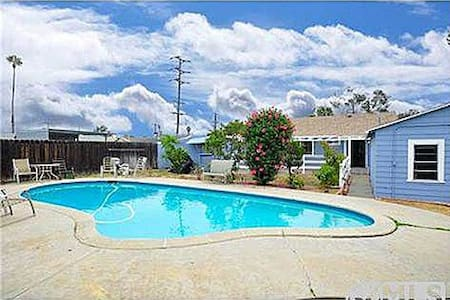 Cozy house with backyard and pool - El Cajon