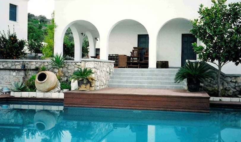 Villa Phoebe with swimming pool in Spetses, Greece - Spetses - วิลล่า