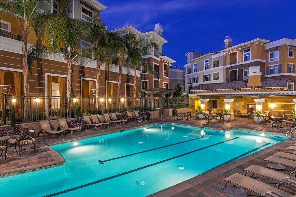 Heated Pool and Jacuzzi