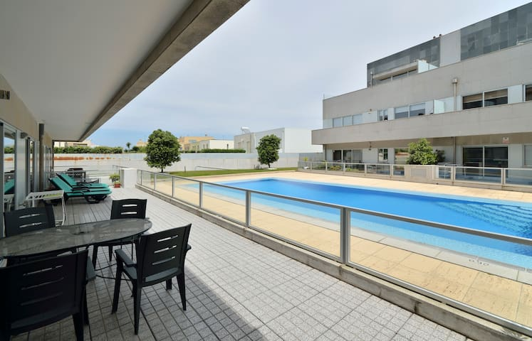 Two bedrooms near Porto and the beach with pool! - Agudela - Wohnung
