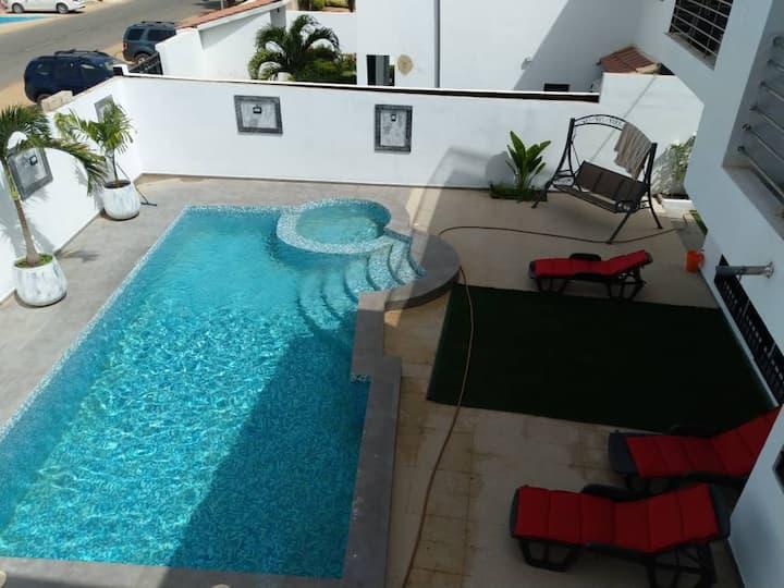 IKASSO - Villa avec piscine en face de la mer