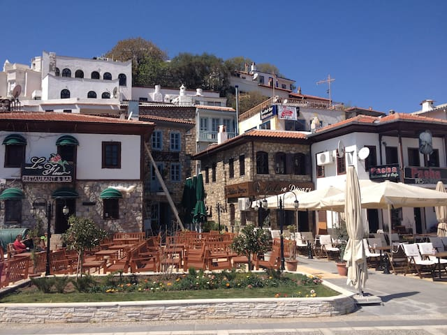 Charming with astonishing rooftop - Marmaris - Maison