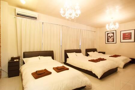 502room(60㎡)New Open!! SHINSAIBASI Special Room! - Ōsaka-shi