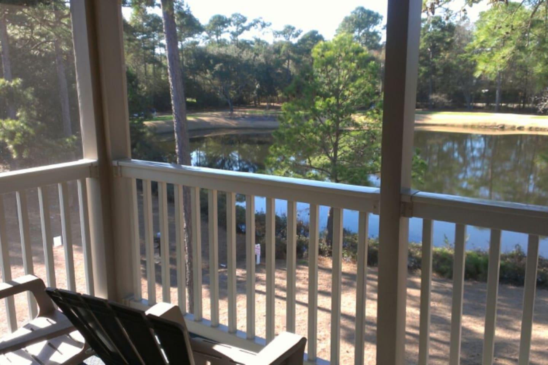 Lake View off back porch